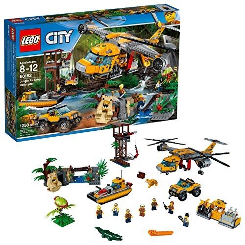 レゴLEGO City Jungle Explorers 6174645 Air Drop Helicopter, Multi