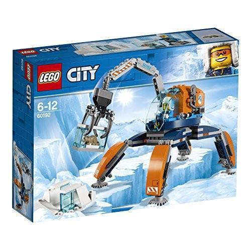 レゴLEGO City Arctic Ice Crawler, Winter Expedition Vehicle Toy, Heavy Snow Crane