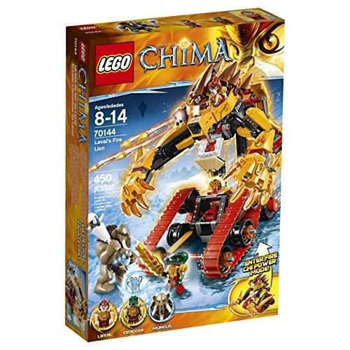 レゴLEGO Chima 70144 Laval's Fire Lion Building Toy
