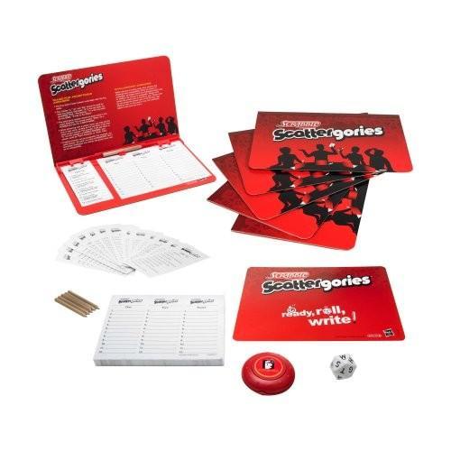 ボードゲームHasbro Scrabble Scattergories Game