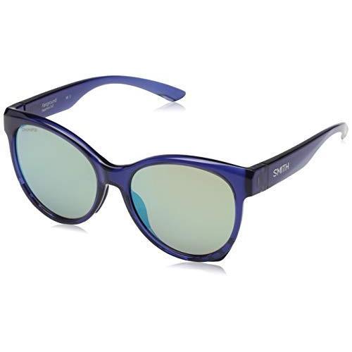 スポーツFairground ChromaPop Polarized Sunglasses, Sapphire / ChromaPop Opal Mirror, Smith OpticOne Size