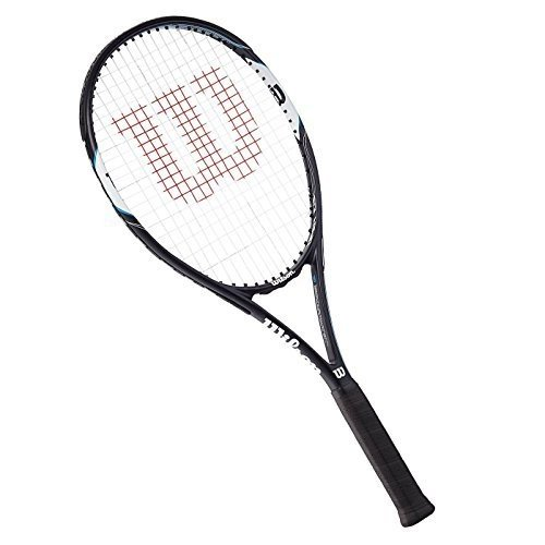 ラケットWilson Surge Open 103 Tennis Racket - 黒, Size 3 by Wilson