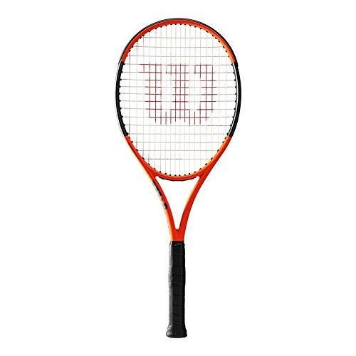 ラケットWilson Burn 100ls Limited Edition Tennis Racquet, オレンジ/黒 - Unstrung4-3/8