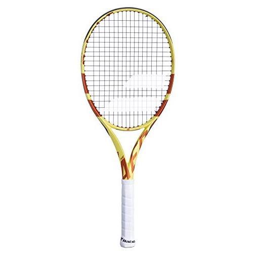 ラケットBabolat Pure Aero Lite Roland Garros Tennis Racquet (4 1/2
