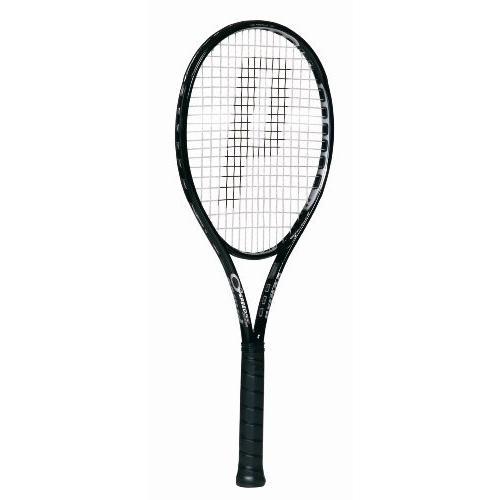 ラケットPrince O3 Speedport 黒 MP Tennis Racquet(4 3/8)3
