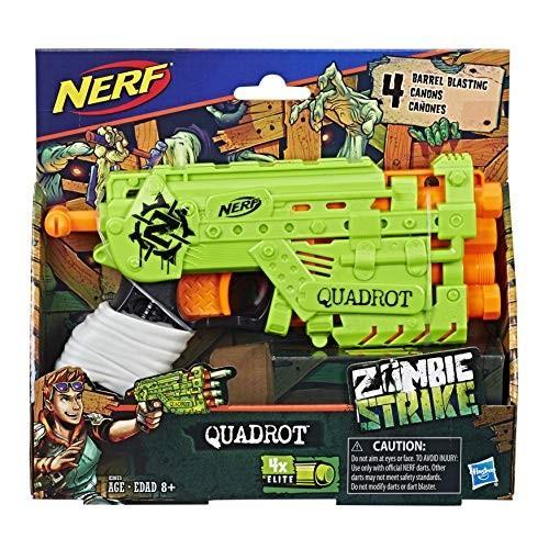 ナーフNERF Ner Zombie Strike Quadrot Blaster Toy