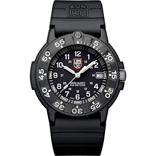 【ラッピング不可】 アメリカ海軍SEAL部隊Luminox Wrist Watch Navy Navy Seal Original Watch 3001 - Back - - 43mm Mens Watch, 濃厚本舗:49cf7640 --- chizeng.com