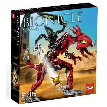 レゴLego Bionicle Glatorian Warrior Set #8990 Fero and Skirmix