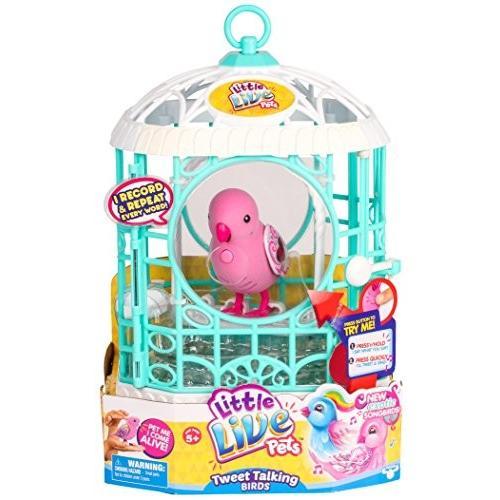 リトルライブペッツLittle Live Pets Bird with Cage - Ruby Belle