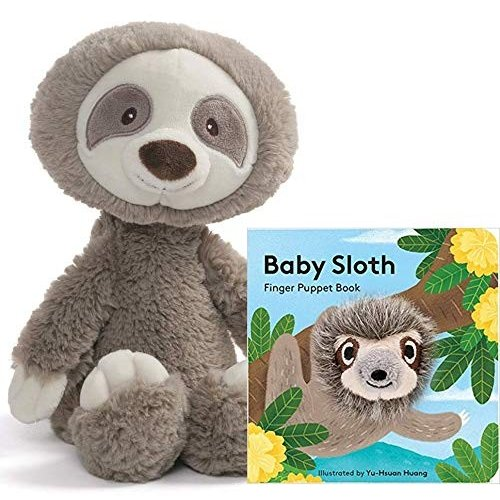 ガンドGUND Baby Toothpick Sloth Plush Stuffed Animal 12