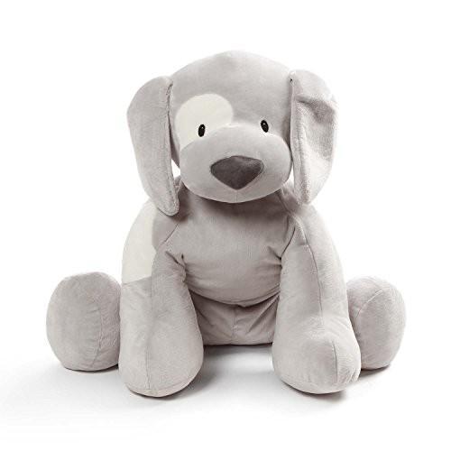 ぬいぐるみBaby GUND Spunky Puppy Dog Jumbo Over 2 Feet Tall Stuffed Animal Plush, Gray24