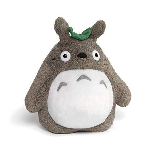 ガンドGUND 30th Anniversary Fluffy Totoro Stuffed Animal Plush in Gray 9 inches