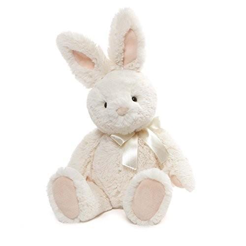 ガンドGUND Velvet Stuffed Animal Bunny Rabbit Plush, 白い, 13