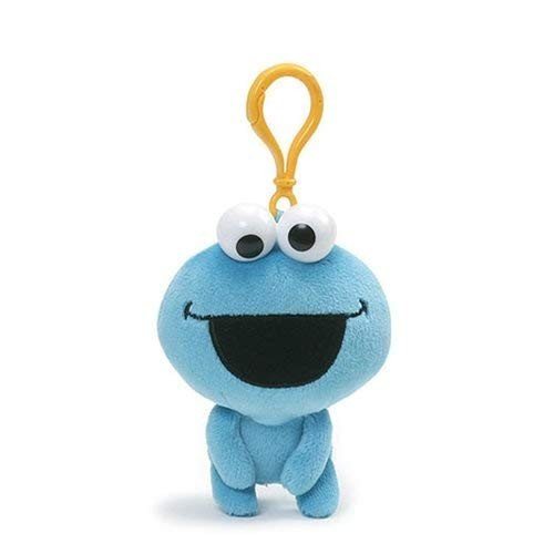 ぬいぐるみGUND Sesame Street Cookie Monster Emoji Backpack Clip5 Inch