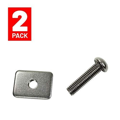 フィンWavestorm Metal Screw and Plate Set // Metal Screw and Plate Set for Longboard Surfboard an