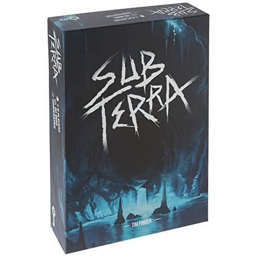 英語Sub Terra Board Game Strategy Board Game