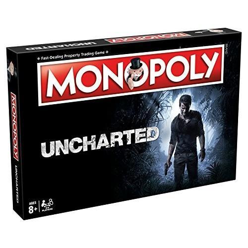 英語Winning Moves Games Uncharted Monopoly Board Game