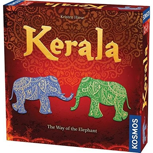英語Thames & Kosmos Kerala (The Way of The Elephant) GameStandard