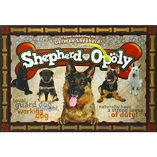 英語Late for the Sky German Shepherd-opoly