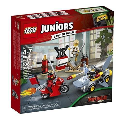 ニンジャゴーLEGO Juniors Shark Attack 10739 Building Kit (108 Piece)