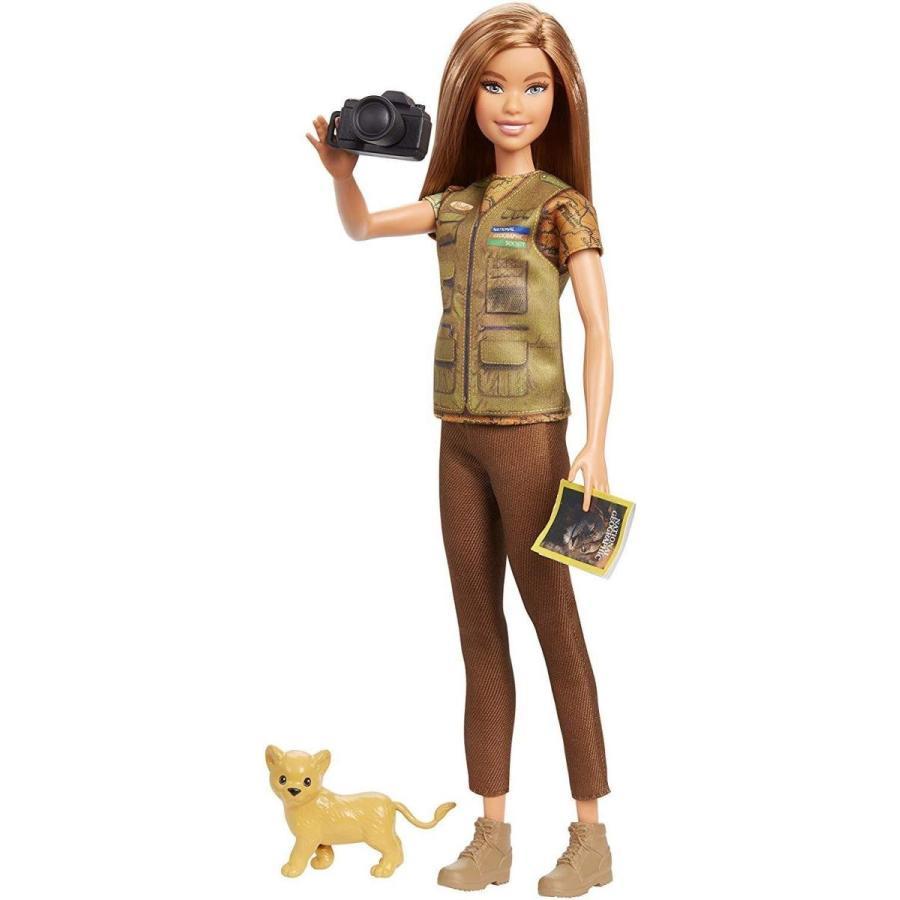 バービー人形Barbie Photojournalist Doll