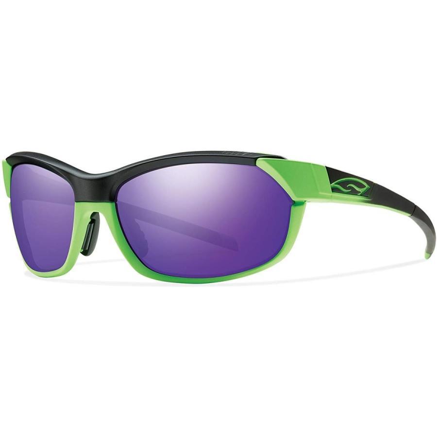 スポーツSmith Optics Pivlock Overdrive Sunglass with 紫の Sol-X, Ignitor, Clear Carbonic TLT LMedium