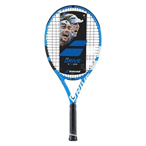 ラケットBabolat Pure Drive 25 Junior 青/白い Tennis Racquet (4