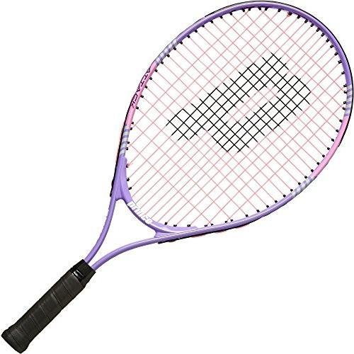 ラケットPrince Attack Junior Tennis Racquet (紫の/ピンク, 23 Inch)23 Inch