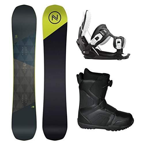 ウィンタースポーツFlow 2019 Nidecker MERC 159cm Snowboard Package Bindings BOA Boots Boots Boots (Boot Boot Size 10 2ee