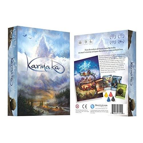 英語Hemisphere Games Karmaka Card Game