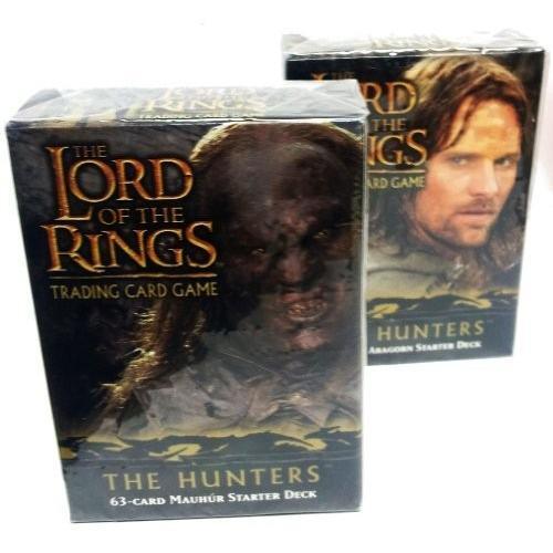 英語Lord of the Rings Card Game 63 Card Starter Deck - The Hunters