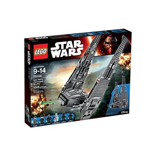 スターウォーズLEGO Star Wars Kylo Ren's Command Shuttle 75104 Star Wars Toy6100678