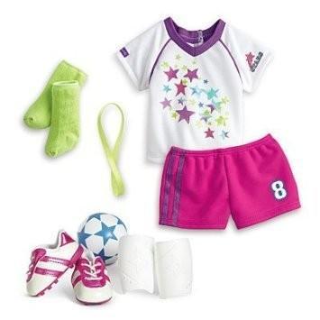 アメリカンガールドールAmerican Girl - Soccer Team Outfit for Dolls - MY AG 2015