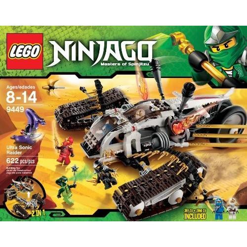 レゴLEGO Ninjago Ultra Sonic Raider Set 9449