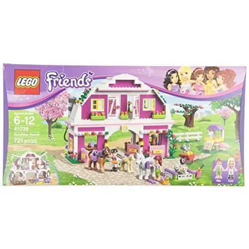 フレンズLEGO Friends 41039 Sunshine Ranch (Discontinued by manufacturer)41039 One Size
