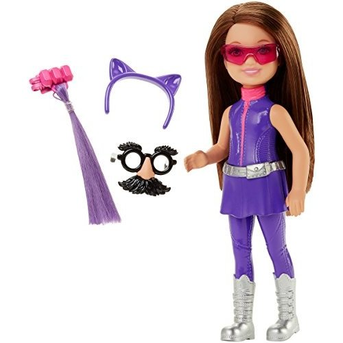 バービー人形Barbie Spy Squad Junior Agent Doll, 紫のDHF11