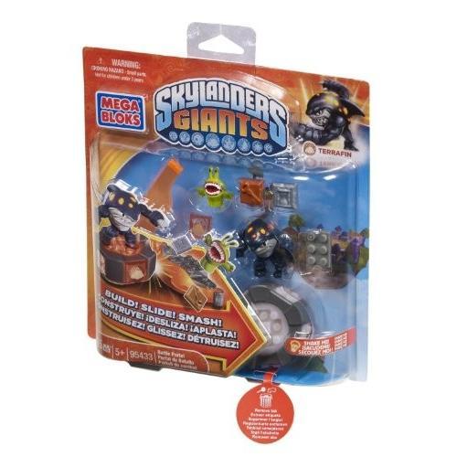 メガブロックMega Bloks - Skylanders - Terrafin's Battle Portal