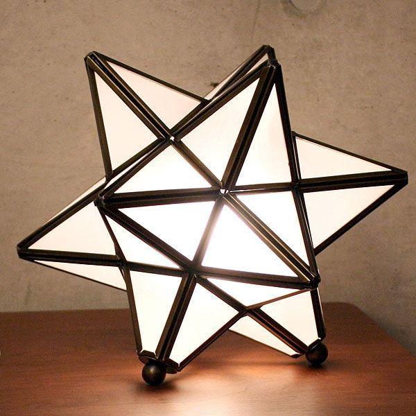 照明器具 アンティーク テーブルライト 星形 フロアスタンド Etoile エトワール