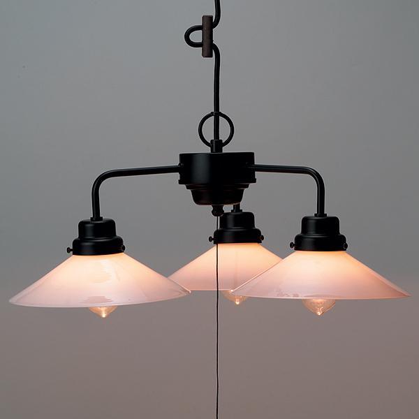 ペンダントライト 3灯 ガラス 後藤照明 レトロ アンティーク 日本製 手吹き硝子 GLF-3228 GLF-3228 GLF-3228 6a2