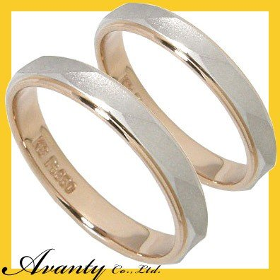 高価値セリー 結婚指輪 安い ペアリング プラチナ K18 マリッジリング ペアリング ペアセット 安い 結婚指輪 プラチナ950 Pt950 K18ピンクゴールド K18PG 2本セット, アルベルワインショップ:8c3e65f7 --- airmodconsu.dominiotemporario.com