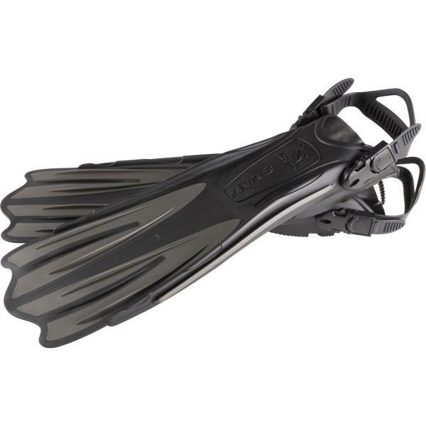 ダイビングフィン/足ひれ 〔ストラップ型 Sサイズ ブラック〕 メンズ レディース 『SUMI IST PROLINE FP-01』