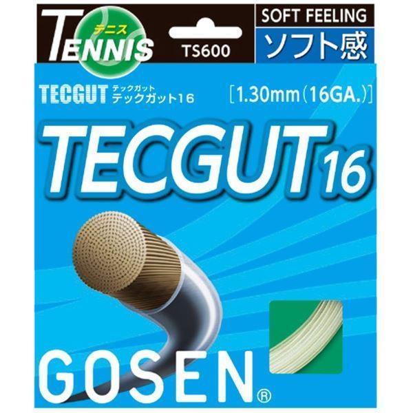 【送料無料】 GOSEN(ゴーセン) テックガット テックガット16 TS600W20P, 激安通販の e69e68ee