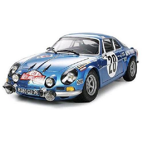 タミヤ 1/24 スポーツカーシリーズ アルピーヌ ルノーA110 モンテカルロ'71