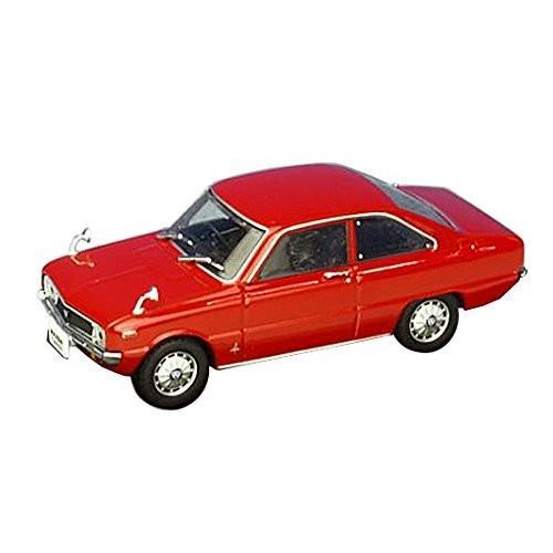 FIRST:43 1/43 マツダ ロータリークーペ R100 ファミリア 1968 レッド 完成品