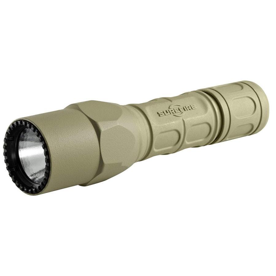SUREFIRE(シュアファイア) LEDライト G2X デュアルスイッチ 茶 G2X-D-TN