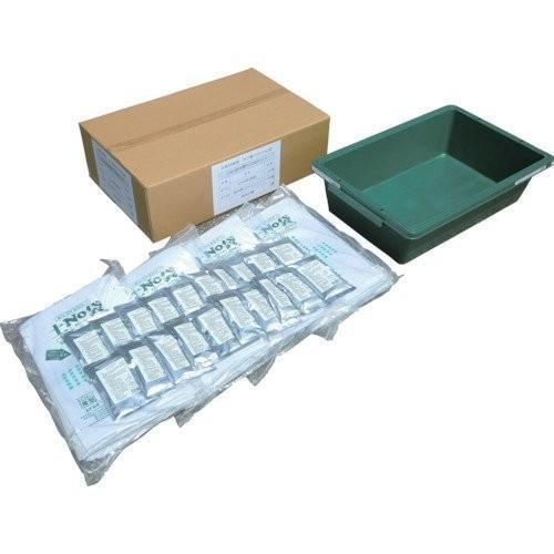 丸和ケミカル 土No袋箱型水槽付20枚セット 722-T20