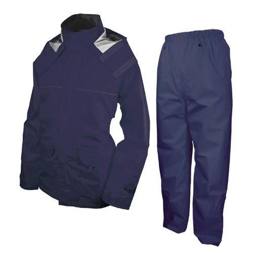 アーヴァン 千両万両 全4色 全5サイズ 上下スーツ ネイビー 3L 防水・透湿 #9850 正規代理店品