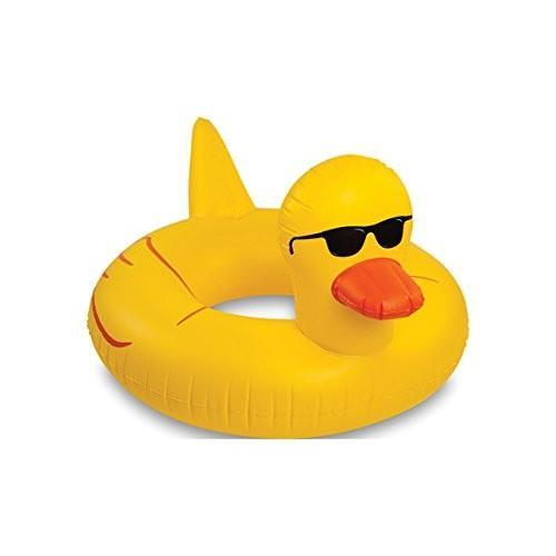 あひる アヒル フロート ボート 特大サイズ おもしろい 浮き輪 海 プール おもちゃ グッズ 並行輸入品