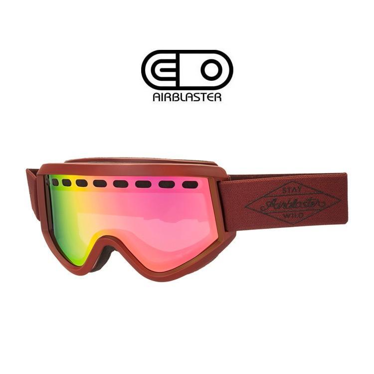 【5%還元】エアブラスター ゴーグル AIRBLASTER 黒 Diamond GGL LENS HERO AIR OXB スノーボード スキー スノボ