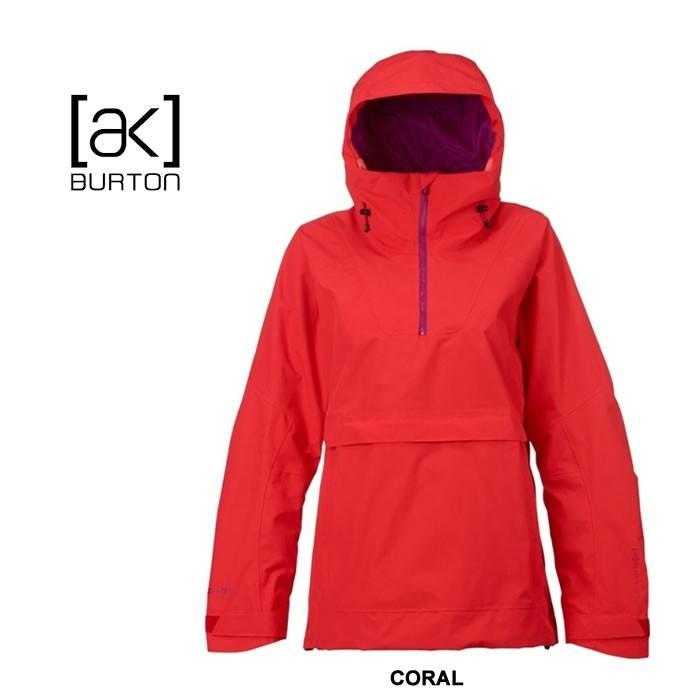 ファッションの バートン W スノー ウエア レディース ウエア BURTON [ W ] AK ELEV ANORAK JK ] CORAL ジャケット スノーボードウェア スノーボード [1001], 関川村:c4dff2b0 --- airmodconsu.dominiotemporario.com